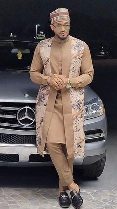Latest African Wear For Men, Latest African Men Fashion, African Shirts For Men, Nigerian Men Fashion, African Attire For Men, African Clothing For Men, African Fashion Designs For Men, African Men Style, Arab Men Fashion