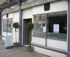 Passorn Thai, Tollcross - 'Angelic Thai Dining', couldn't agree more. They've just opened a brasserie on Hanover Street as well!