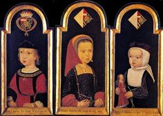 A really neat collection of paintings of children from the 16th through the 18th C