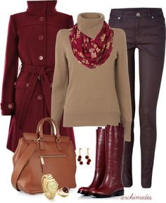 """""""Warm Tones On A Cold Night"""" by archimedes16 on Polyvore"""