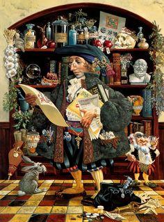 James Christensen |  [Присоединенная картинка] Художник родился 26 сентябрягода в Калвер-Сити,...