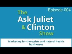 Episode 004 - How do you spread the word about your new website once it's live? - The Ask Juliet & Clinton Show