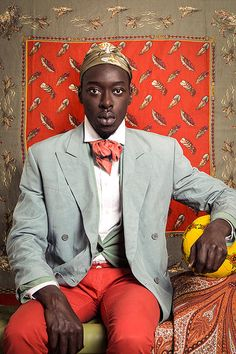photo africaine : Omar Victor Diop, Project Diaspora What This Continent has gone through is unfatomable...