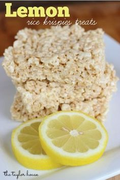 Lemon Rice Krispies Treats® are a quick and easy recipe with a slight citrusy flavor that you and the kids will love on a summer night as an after-dinner dessert.