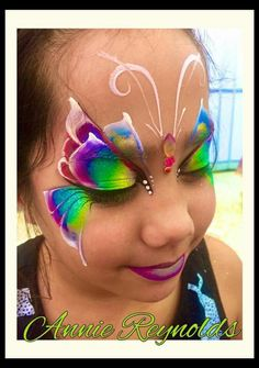 Amazing butterfly #facepainting