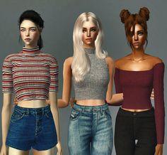 Always Sims: Varied Tops - AF