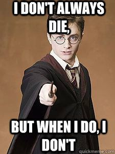 Hahahah. @Neha Sharma Khosla Sharma  Best Harry Potter meme ever.