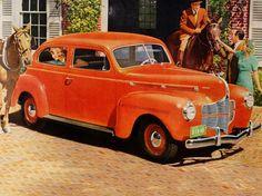 1940 Dodge Luxury Liner Deluxe 2-Door Sedan