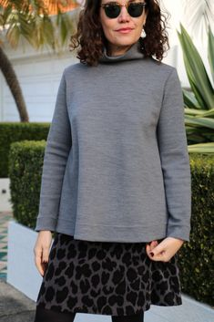 The Hazelwood Top sewing pattern - Tessuti Fabrics