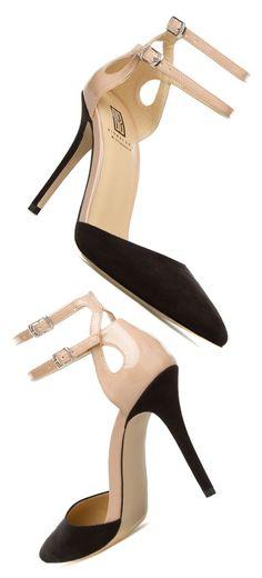 Zaren Heels in Black and Tan