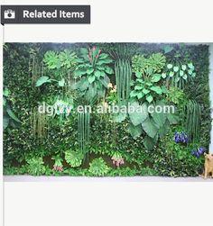 Pendurado plantas artificiais parede viva-imagem-Flores e arranjos decorativos-ID do produto:60186024393-portuguese.alibaba.com