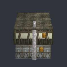 3D model house07.obj - Free Design Elements: House 3D Model Free - 10 - 461 vertices - 604 polygons  See it in 3D: https://www.yobi3d.com/v/OPMlZKMD4k/house07.obj