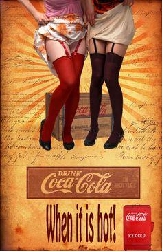 Old Coke Ad by Canankk.deviantart.com on @deviantART - Digital Art / Photomanipulation / Conceptual©2010-2014 Canankk
