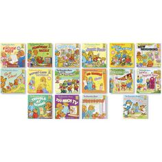 Collection of 3 Berenstain Bears Character Sets- $57.45
