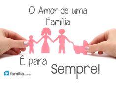 O Amor de uma Família é para Sempre,mesmo que a vida de voltas,o verdadeiro amor sempre as unira.