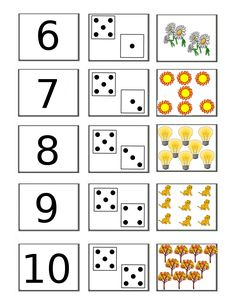 Using Math Games to Enhance Learning Math For Kids, Fun Math, Math Games, Preschool Learning Activities, Preschool Activities, Teaching Kids, Numbers Kindergarten, Numbers Preschool, Kindergarten Math Worksheets