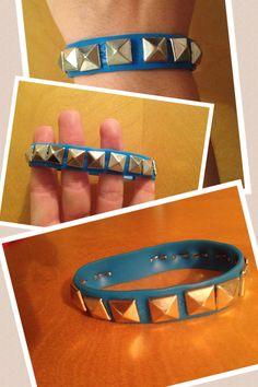 DIY studded bracelet!