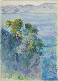 Joseph Lindon Smith American (Pawtucket, RI 1863 - 1950 Dublin, NH) Landscape | Harvard Art Museums