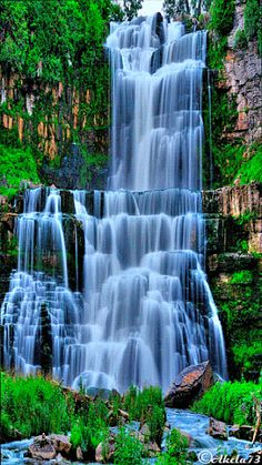 30 Beautiful Nature Animated Gifs At Best Animations Nature Wallpaper Beautiful River Waterfall Wallpaper . Waterfall Scenery, Waterfall Photo, Forest Waterfall, Waterfall Wallpaper, Scenery Wallpaper, Hd Wallpaper, Wallpaper Ideas, Wallpaper Gallery, Wallpaper Pictures