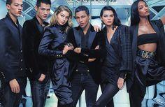 Balmain x H&M  Campaign  #Balmain #HM #OlivierRousteing #HMBalmaination