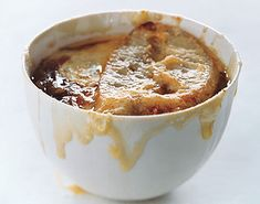 French Onion Soup...the best onion soup I have ever made...don't skip adding the wine and cooking the onions for a really long time>>>>Fabulous!!!