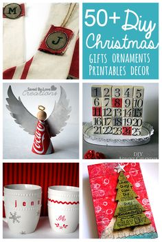 Over 50 of the Best of DIY Christmas Decor and Gifts to Make