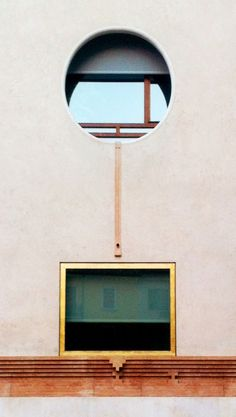 Carlo Scarpa | More on: http://www.pinterest.com/AnkAdesign/abstract-piece-of-tecture/ circulo fachada cuadrado geometria