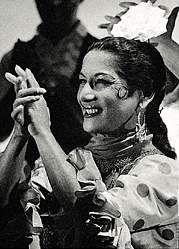 Специальный ВММ: Фламандский Барселона   Танцовщица в полном действии.