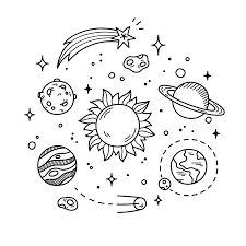 Résultats de recherche d'images pour « planets drawings tumblr »