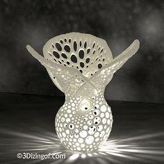 3D printed lamp by Dizingof on ponoko3-D PrintingMore Pins Like This At FOSTERGINGER @ Pinterest