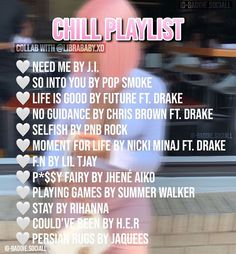 Lit Songs, Mood Songs, Love Songs Playlist, Spotify Playlist, Rap Music, Music Songs, Chill Songs, Playlist Names Ideas, Song Recommendations