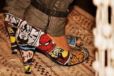 Spidey heels!