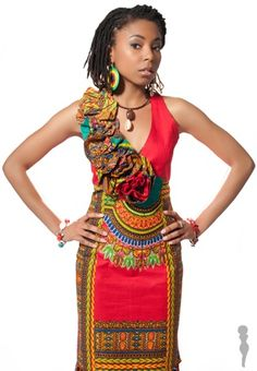 When it comes to the fashion of Kitenge, they come out in all possible styles and designs. The South African traditional style of Kitenge is still a very . African Print Clothing, African Print Dresses, African Dress, African Prints, African Inspired Fashion, African Print Fashion, Africa Fashion, Kitenge, African Attire