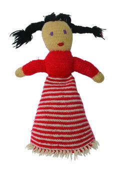 1970 - poupée en maille, collection privée © Solo-Mâtine