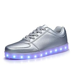 Men's Casual Shoes Discreet Sytat Luminous Led Shoes 2017 Emitting Casual Shoes Men Lovers Led Lighted Chaussure Unisex Usb Charging Glowing Led Shoes