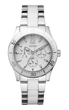 Guess W15067L2 – Reloj analógico de mujer de cuarzo con correa de acero inoxidable multicolor | Your #1 Source for Watches and Accessories