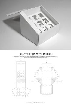 Slanted Box with Ins