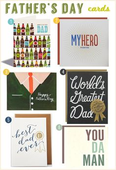 Father's Day cards for your Dad!