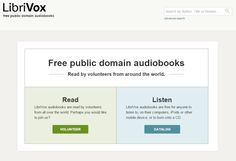 The Top 8 Websites to Find Free Audio Books: Librivox