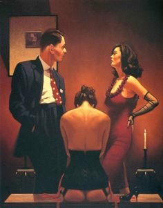 A special collection of Jack Vettriano's more erotic works, published for the first time as signed, limited edition prints. Jack Vettriano, The Singing Butler, Bon Film, Red Rooms, Great Paintings, Original Paintings, Pulp Art, Pulp Fiction, Limited Edition Prints