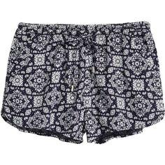 Short Shorts $12.99 ($13) ❤ liked on Polyvore featuring shorts, dark blue shorts, woven shorts, hot pants, short shorts and micro shorts