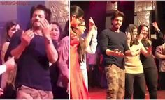Shah Rukh Khan takes time off from Raees, goes 'Chammak Challo' with fans. Watch video, pics