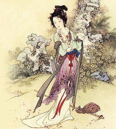 The Twelve Beauties Of Jinling – Lin Daiyu