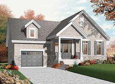 Plan 21807DR: Flexible Starter Home Plan