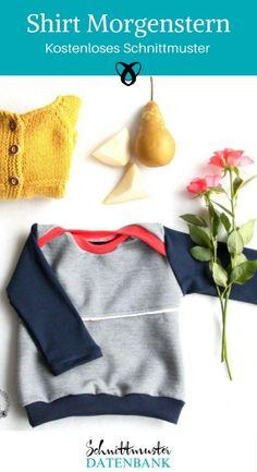 Shirt Morgenstern Babyshirt Kidshirt Slipshirt Longsleeve Pullover Free Sewing Pattern Free Sewing T Baby Clothes Patterns, Sewing Patterns Free, Baby Clothes Shops, Clothing Patterns, Diy Clothes, Clothes Storage, Pattern Sewing, Baby Outfits, Kids Outfits