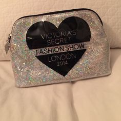 Victoria's Secret make up bag VS fashion show London 2014 make up bag! Awesome condition! Under once! Make an offer (: Victoria's Secret Bags Cosmetic Bags & Cases