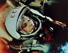 First man in space, cosmonaut Yuri Gagarin