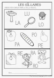 fitxa síl.labes Educació Infantil Brimar