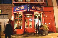 Acme - famous chef from Denmark opens in NYC - Ny Times review - 2 stars