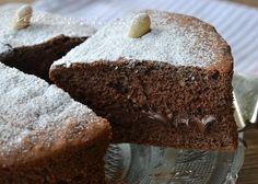 Torta al cioccolato con mandorle e nutella
